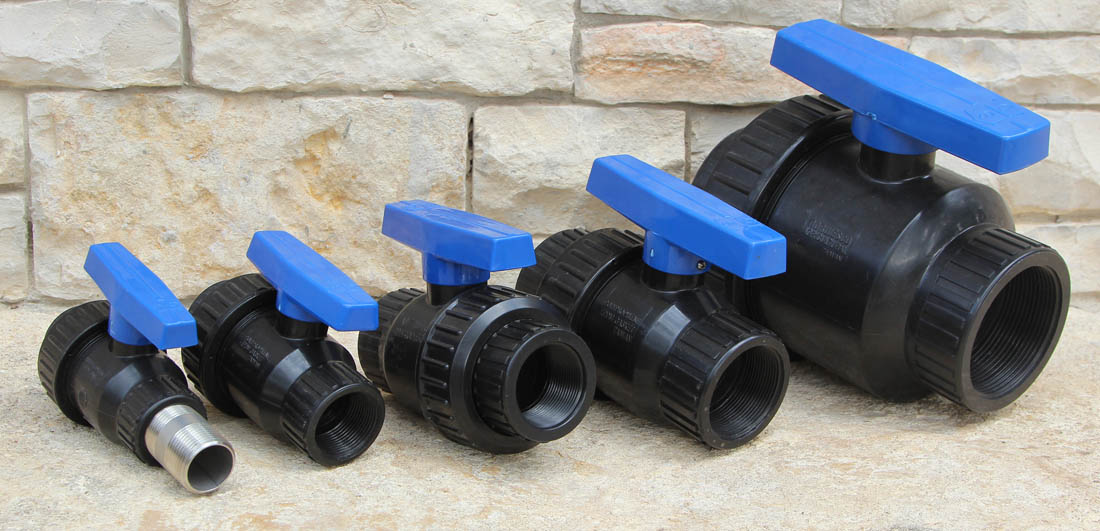 Stainless Steel Ball Valves – SS316 & Polypropylene
