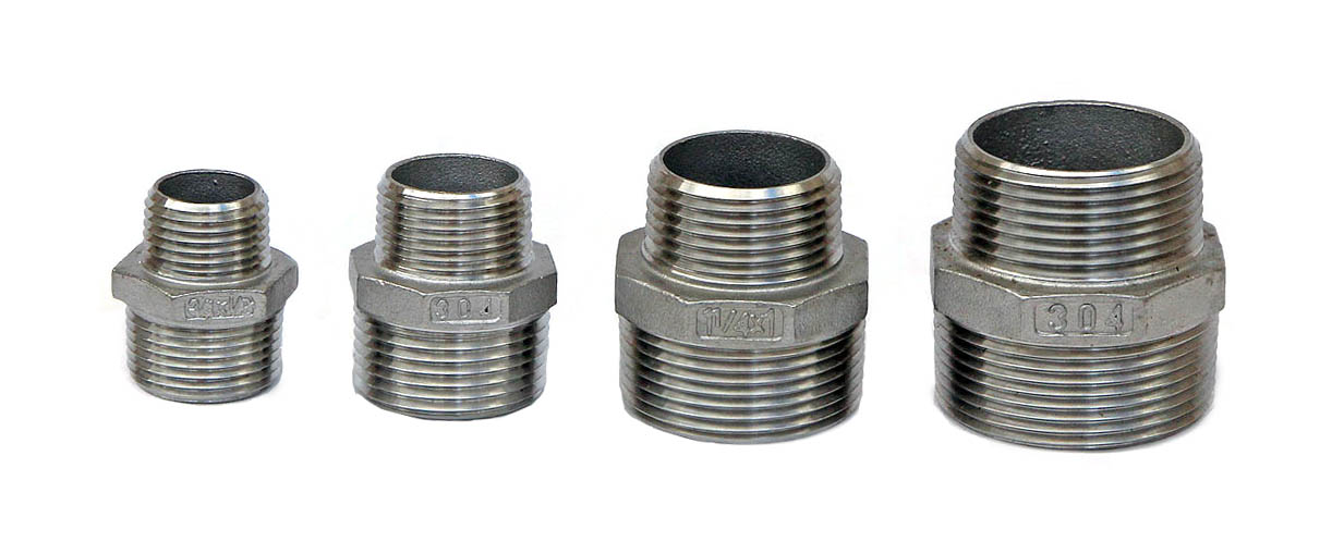 Reducing Nipple Close SS304 – Stainless Steel