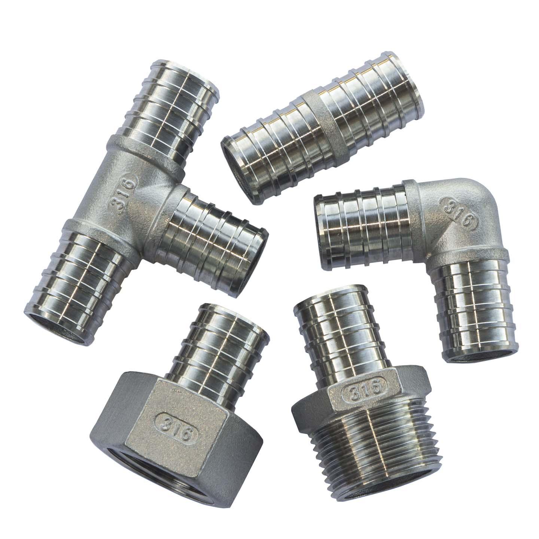 RAINES™ Stainless Steel PEX Fittings