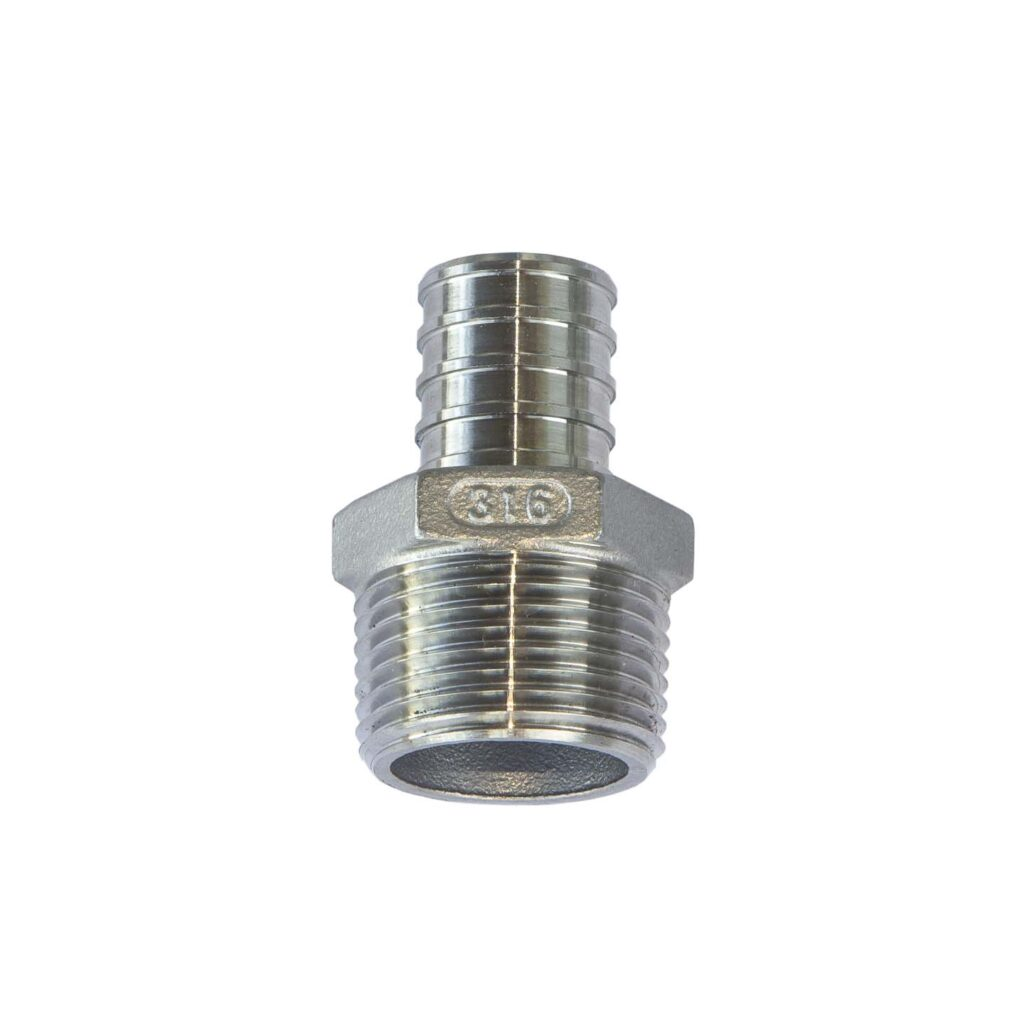 PEX Male Adaptor RAINES™ SS316